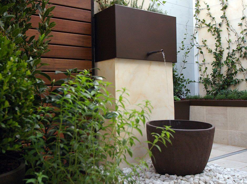 fuente para terraza