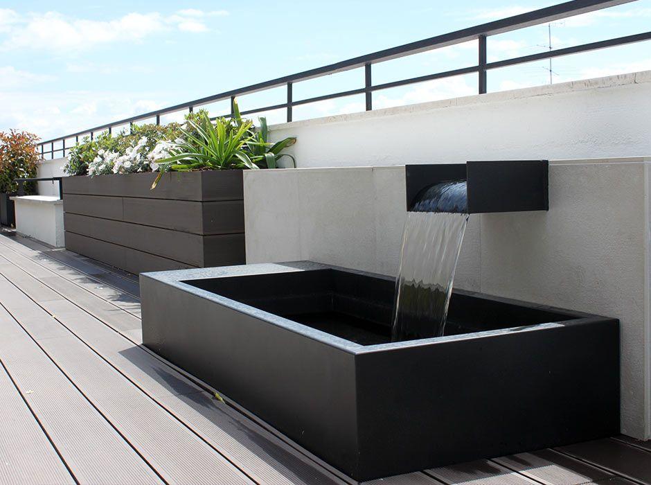 Fuente de jardín