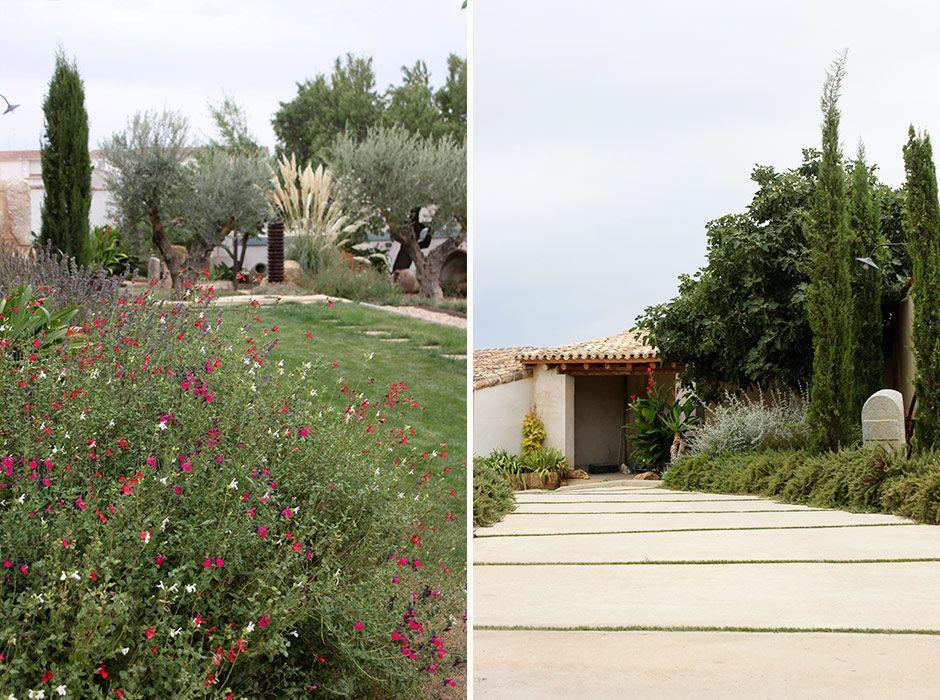 Jardín en Toledo