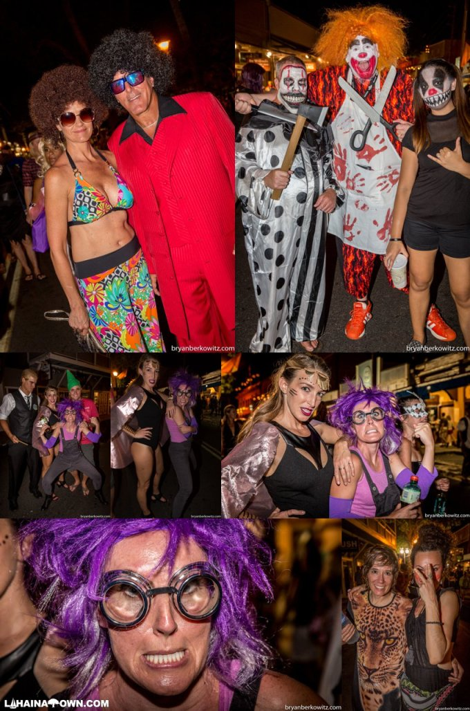 2017 front street lahaina halloween photos maui hawaii