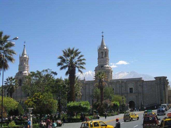 Plaza de Armas - Arequipa - Pérou