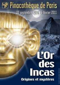 L'Or des Incas - Pinacothèque de Paris