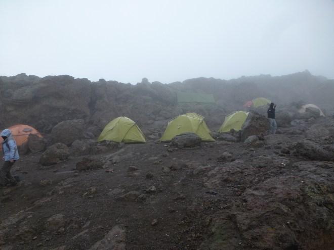 Camp de base Barafu (4640m)