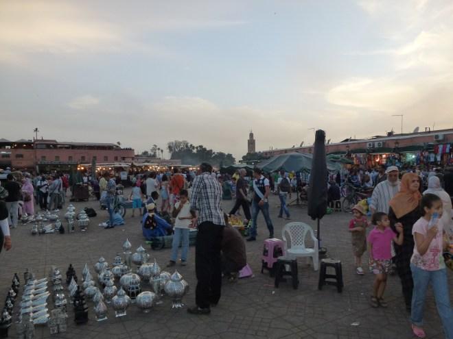 Place Jemaa el-Fna - Marrakech - Maroc