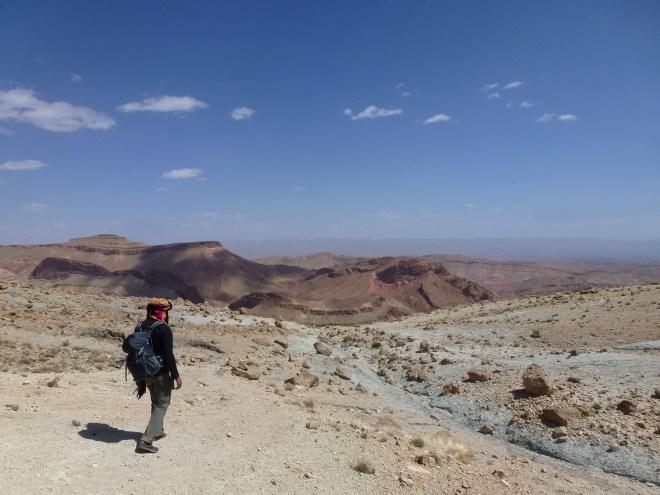 Entre la vallée du M'Goun et la vallée des roses - Maroc