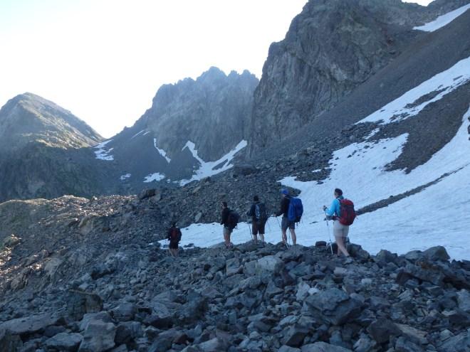 Col de la Mine de Fer - Belledonne - Alpes