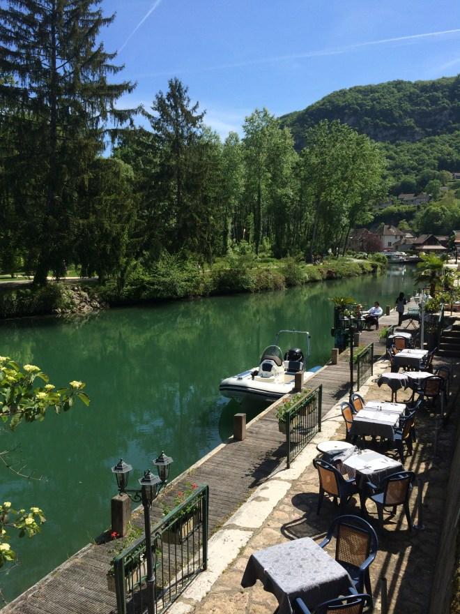 Canal de Savières - Chanaz - Lac du Bourget