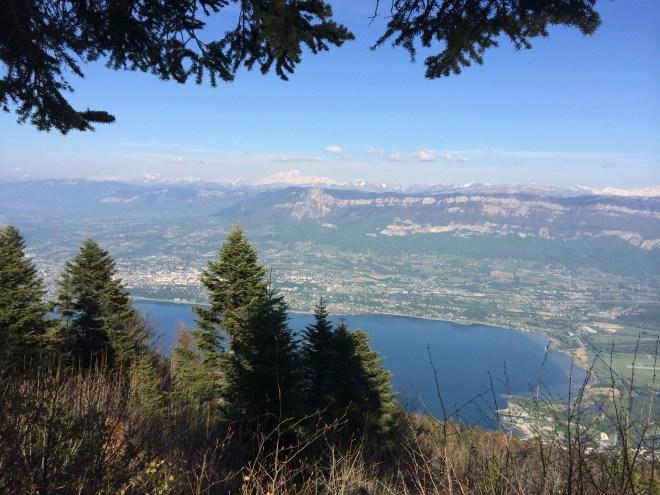 Mont Blanc - relais du Chat - Lac du Bourget