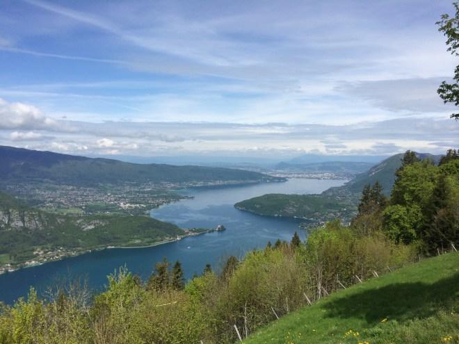 Lac d'Annecy col de la Forclaz Savoie