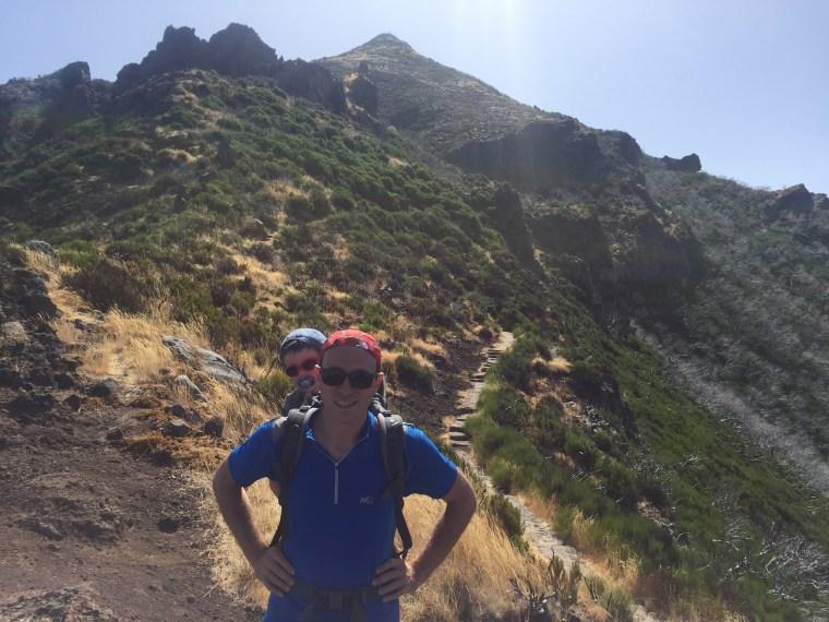Montée vers le Pico Ruivo Madere
