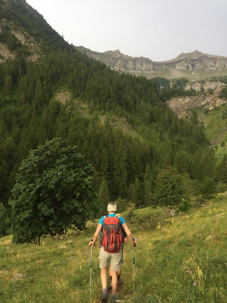Tourond col Vénasque Valgaudemar Alpes