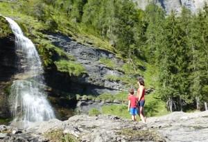 Cascade rouget sixt Haute-Savoie Alpes