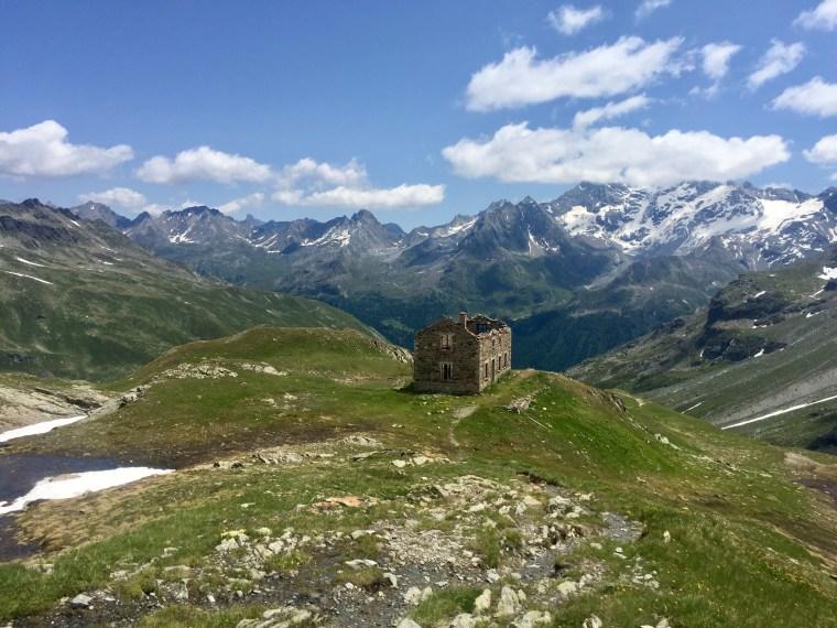 Col Mont, Tour Archeboc, Tarentaise, Alpes, France