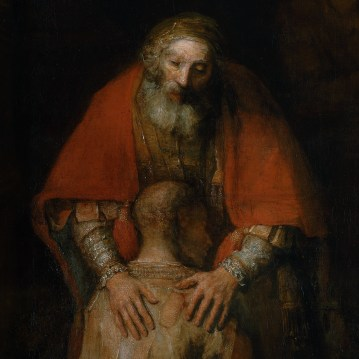 Rembrandt The Return of the Prodigal Son, 1668