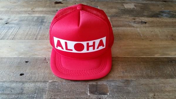 Aloha Block Red