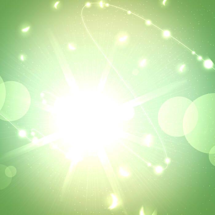 希望の光(緑色)
