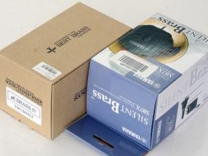 サイレントブラス vs イーブラスIV 外箱