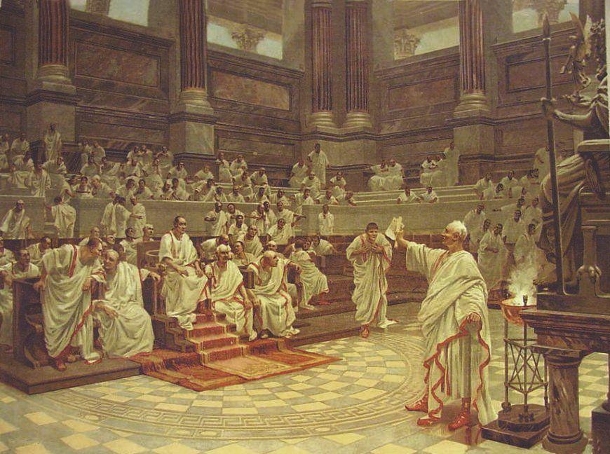 La Roma imperial: el segundo triunvirato