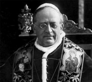 Pío XI, predecesor de Pío XII