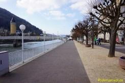 Die Promenade am Lahnufer