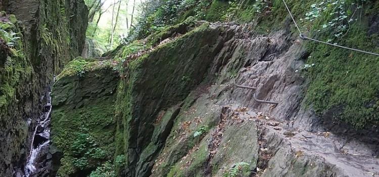 Lahnwanderweg flußaufwärts – Etappe 1 von der Mündung bis Bad Ems