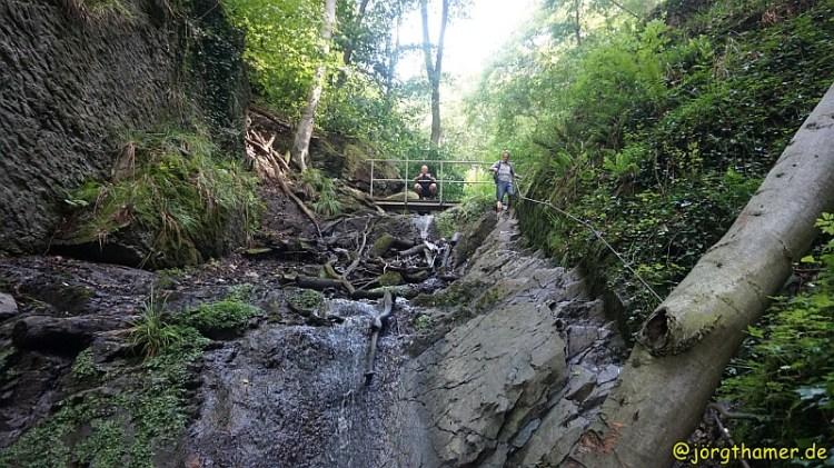 Lahnwanderweg - Ruppertsklamm