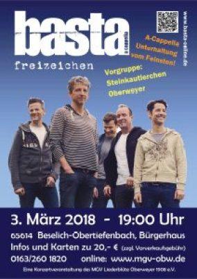 Konzert in Obertiefenbach