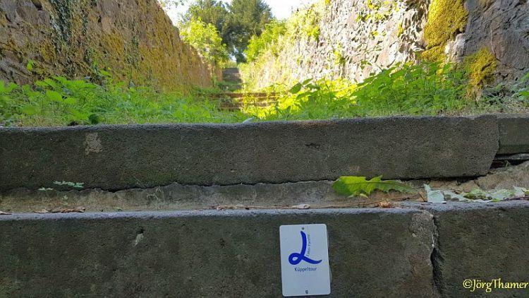 Küppeltour Treppe Schaumburg