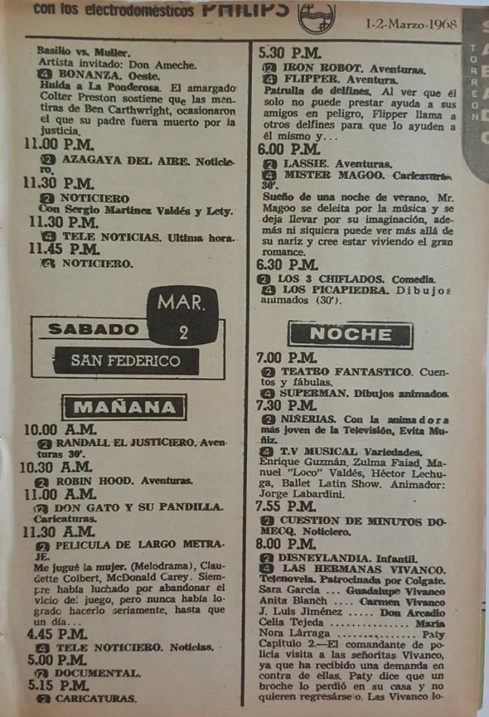 Revista Tele Guía 26 de febrero de 1968 - Parte 2/5
