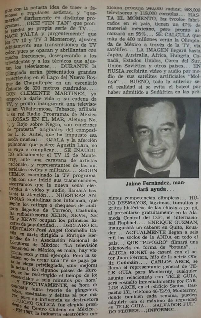 Revista Tele Guía 26 de febrero de 1968 - Parte 5/5