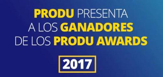 produ awards ganadores 2017