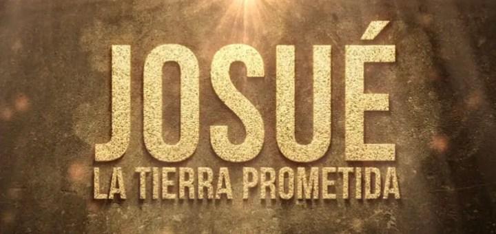 josue y la tierra prometida logo grande