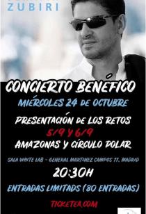 Concierto benéfico Serafín Zubiri. VERTICAL Foundation Invencible La Hora Violeta.