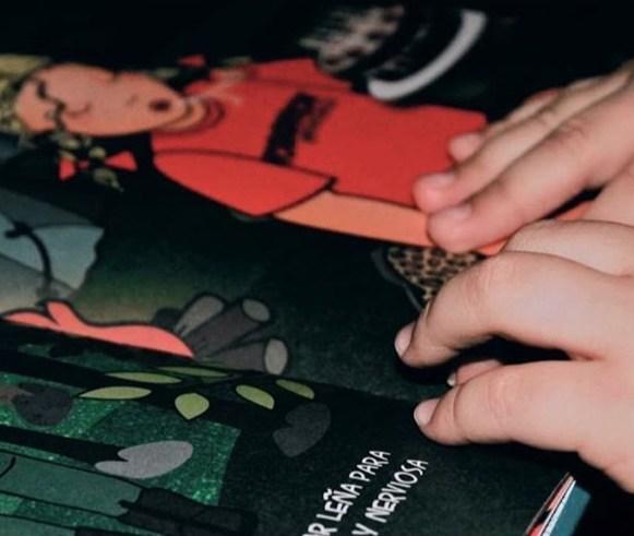 LOLITA SE VA DE PESCA. Leer con las manos. Cuento inclusivo. Braille