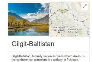 Gilgit Baltistan Status In Pakistan, Provincial, Federal, North