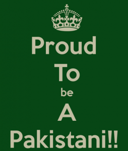 Proud To Be A Pakistani