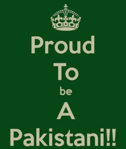 Proud To Be A Pakistani