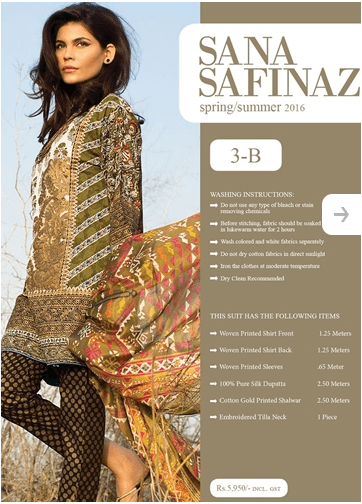 Sana Safinaz Lawn Summer Collection 2016-8