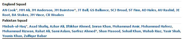 Pakistan Vs England 2nd Test