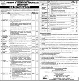 Punjab Govt Primary Secondary Healthcare Department Jobs 2016 Computer Operator