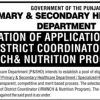 NTS Govt Of Punjab Primary Secondary Healthcare Department Jobs Test Result Dist Coordinator Form Download 2017