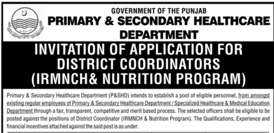 information-about-primary-secondary-health-care-department-dist-coordinator-test