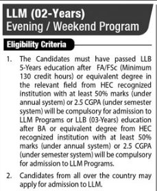 llm-2-years-evening-weekend-program-eligibility-criteria