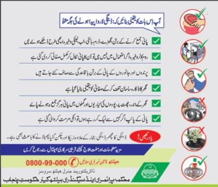 Dengue Fever Treatment In Urdu Pakistan