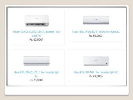 Haier DC Inverter AC Price In Pakistan