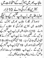 CM Punjab Laptop Scheme 2018 For Matric Students Laptop Distribution