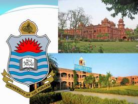 Punjab University PU Law College Lahore LLB Part 1 Entry Test Result 2017