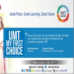 UMT Lahore Admission Fee Structure For Engineering, BBA, MBA, DPT Hostel Fee