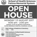 MBBS Admission In Lahore 2017 FMH College Of Medicine & Dentistry
