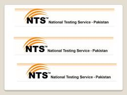 NTS Health Department Sample Paper, Past Papers, MCQs Syllabus